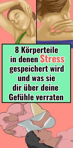 8 Körperteile, in denen Stress gespeichert wird und was sie dir über deine Gef… Bianca Reinhardt