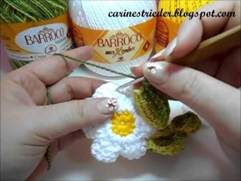 Jogo Americano Margaridas - Crochê - Círculo na TV
