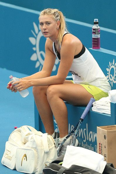 Maria Sharapova Photo - Brisbane International - Practice Sessions