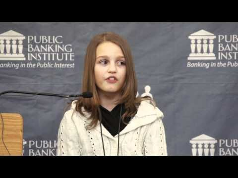 Victoria Grant - a 12 year old exposing the greed in our world