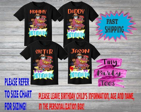 Personalized Birthday Shirts