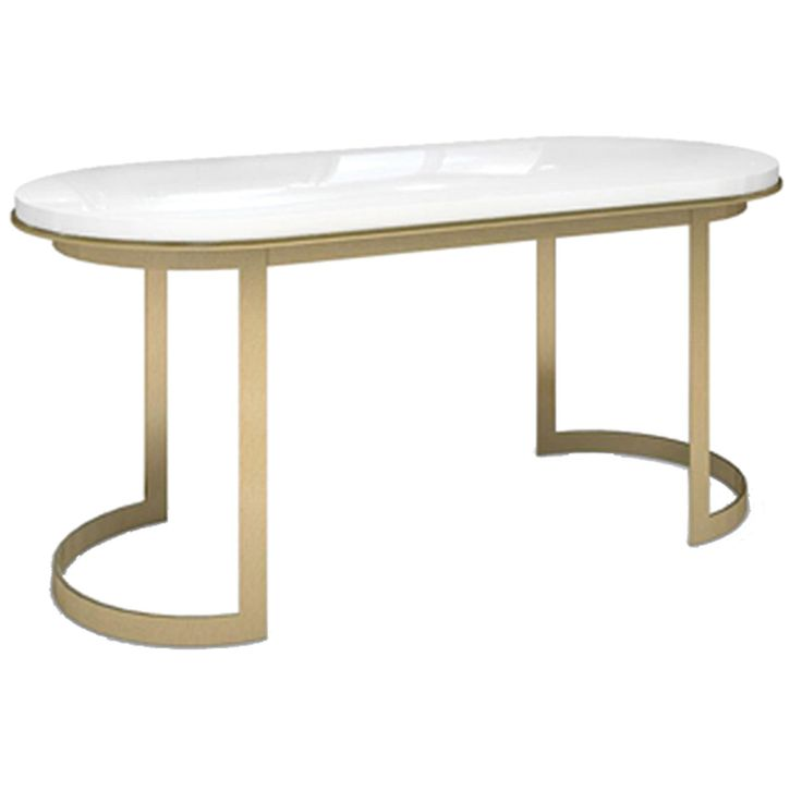 Buy The Coco Desk- White  by McGill Design Group/Plum Furniture - Made-to-Order designer Furniture from Dering Hall's collection of Industrial Mid-Century / Modern Traditional Transitional Desks & Writing Tables.
