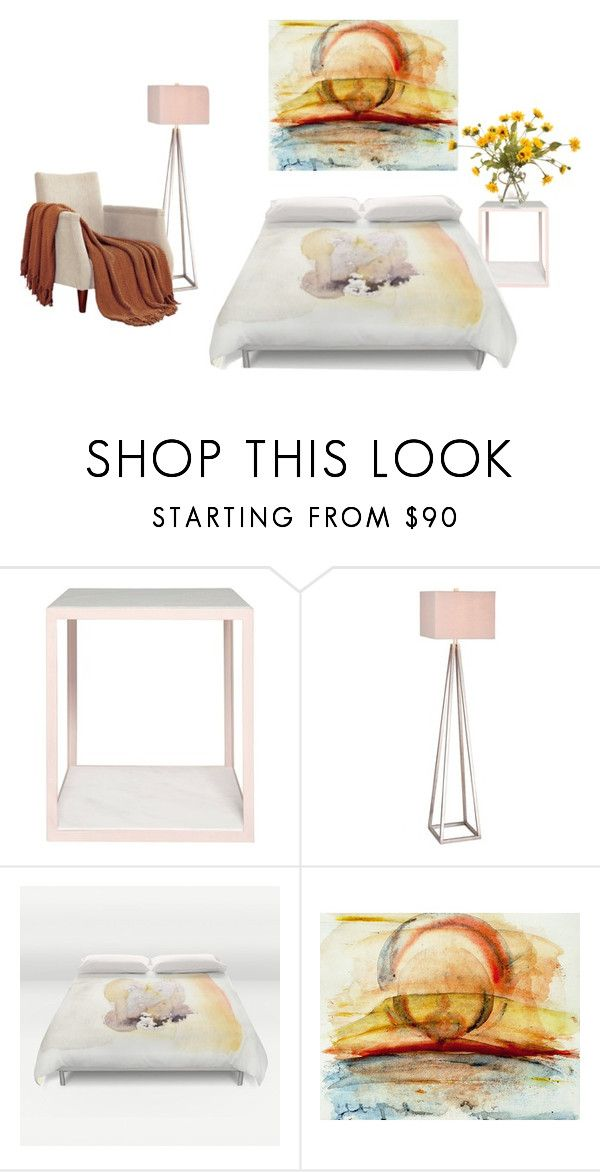 """Inner Glow"" by rhymingscapes on Polyvore featuring interior, interiors, interior design, home, home decor, interior decorating, Pieces, Catalina and John-Richard"