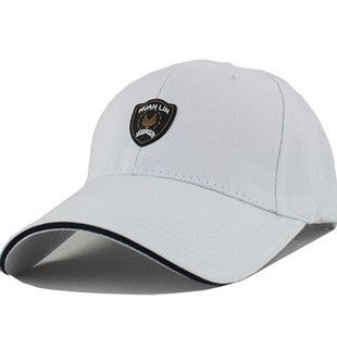 Men's Baseball sun caps sports brand hat wholesale fashion solid black white snapback popular cotton& polyester