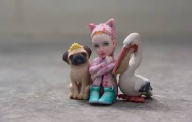 "Saatchi Art Artist Eric van Straaten; Sculpture, ""Onesie&Friends \ Limited…"