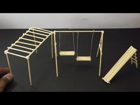 3 Easy Bamboo Sticks Playground Toys - Crafts for kids - YouTube