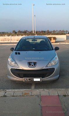 Annonce de vente de voiture occasion en tunisie PEUGEOT 206 Tunis