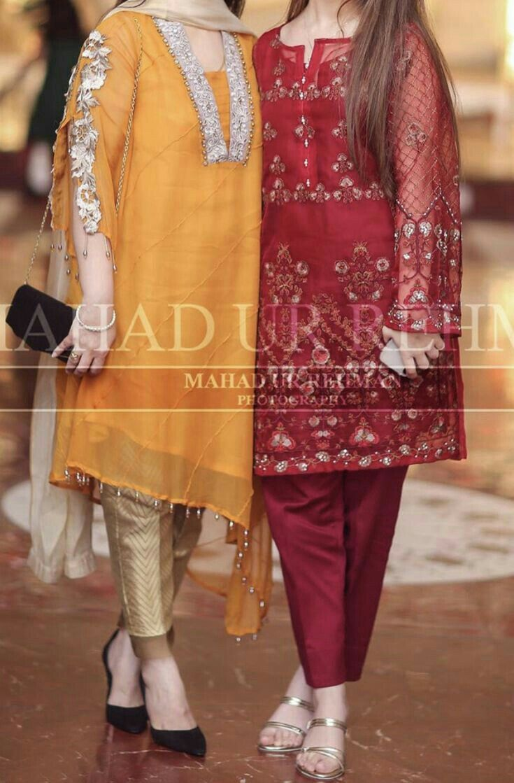 Pin By Queen On Dreŝŝ Fancy Dress Design Pakistani Fashion Party Wear Stylish Dresses For Girls