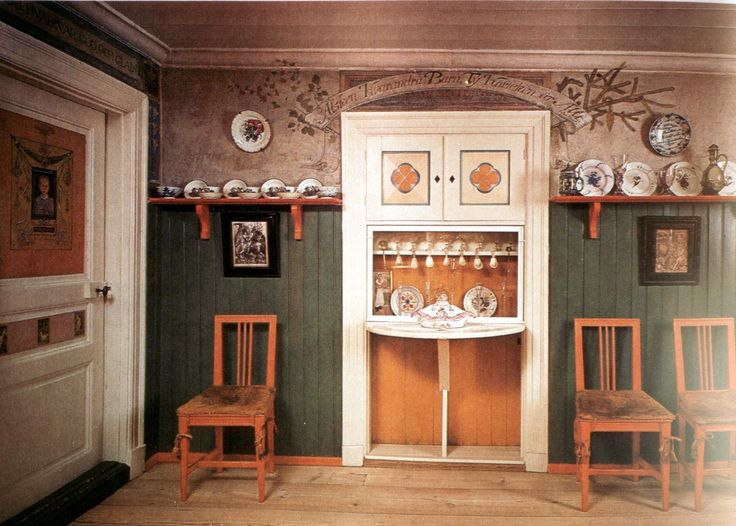 In Sweden Carl and Karin Larsson were inspired by Morris & Co and created their home with the same intentions: back to basics