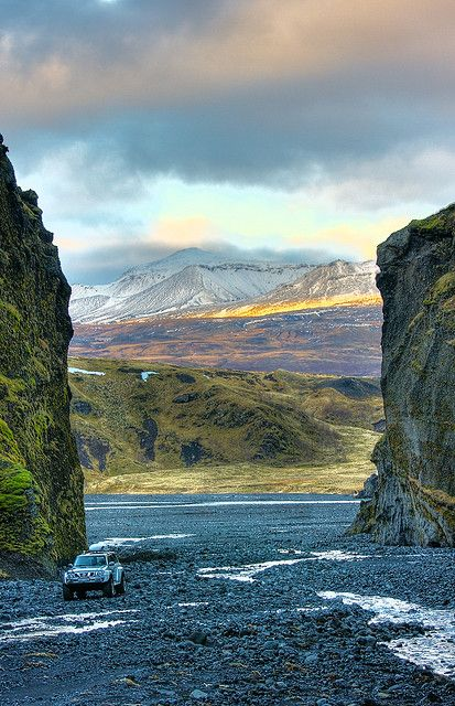 Þórsmörk, Iceland - a favorite camping excursion and get away