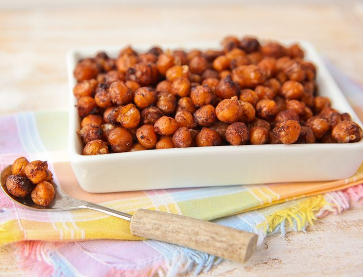 """Sweet Chick"" Toasted Chickpea Snack - if you like things a little sweeter with a hint of cinnamon!"