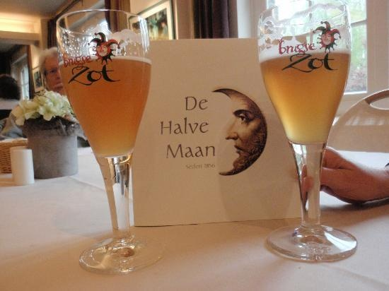 Belgium, country of fine beer. You can visit brewery De Halve Maan in #Bruges and taste their famous Brugse Zot beer at the end of the tour.