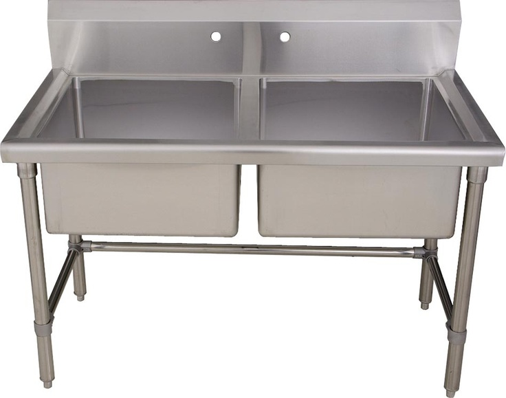 Utility Sink Stainless Steel Freestanding : sinks laundry room kitchen bars utility sink noah stainless steel ...