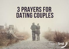 Here are 3 prayers for couples that are dating that I hope you can use or pass along to someone you know who's still dating.  Praying for God's Will  We can pray for