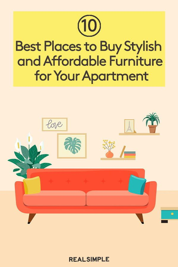 The Best Places To Buy Furniture For Your First Apartment Affordable Furniture Furniture For You Buying Furniture