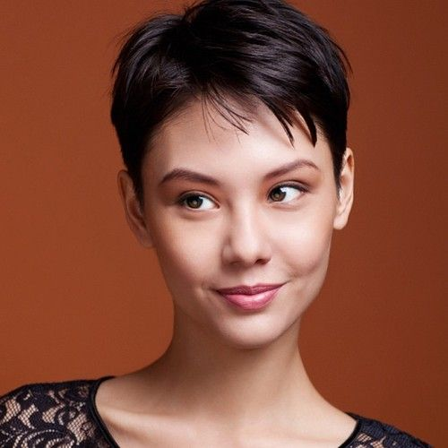 The classic pixie cut. So many woman like it because it looks amazing and is super easy to style