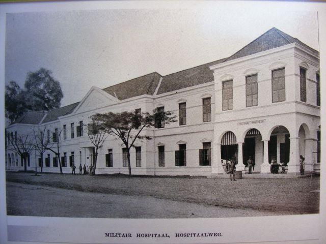 rumah sakit Sukabumi Indonesia   Rumah Sakit Militer (sekarang RSPAD Gatot Subroto) di kawasan ...