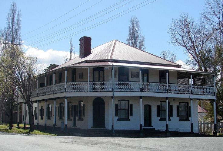 Old Railway Hotel, Railway Station, Tenterfield, NSW