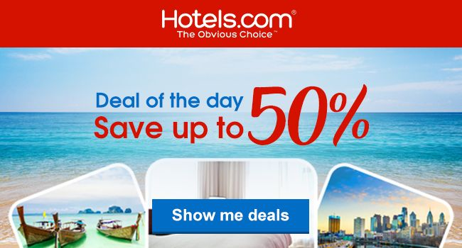 Exclusive Deals, Central Locations. Earn Free Nights on Hotels.com. Lowest Price Guaranteed.