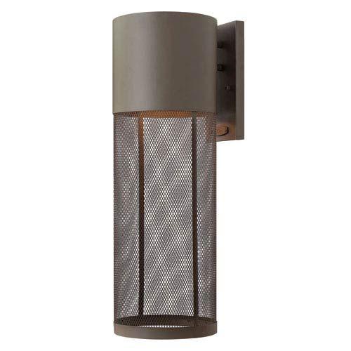 Arc Stainless Steel One Light Outdoor Wall Lantern Maxim Lighting International Wall