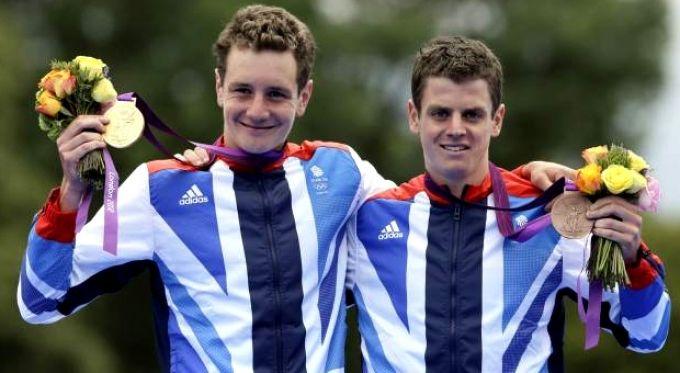 Alistair and Jonathan Brownlee - GB's triathlon brothers. http://champions-speakers.co.uk/speakers/olympians-sports/alistair-brownlee-mbe-and-jonathan-brownlee