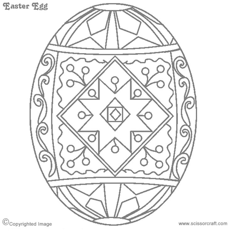 ukraine eggs coloring pages - photo#2