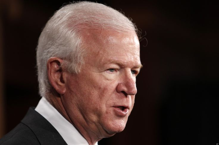 """Retiring Sen. Saxby Chambliss (R-Ga.) said that he won't be following Sen. Rob Portman's (R-Ohio) recent support for gay marriage. """"I'm not gay."""