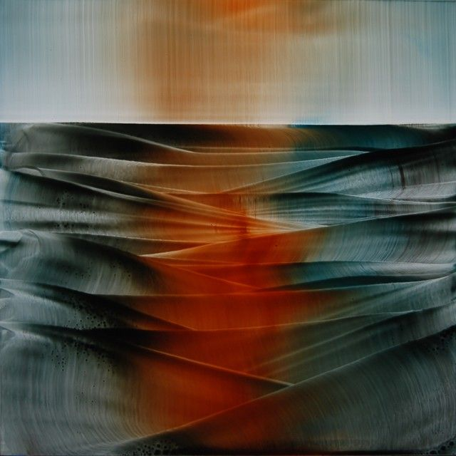 Roi James ~ Meditation on Form, 2011 (oil)