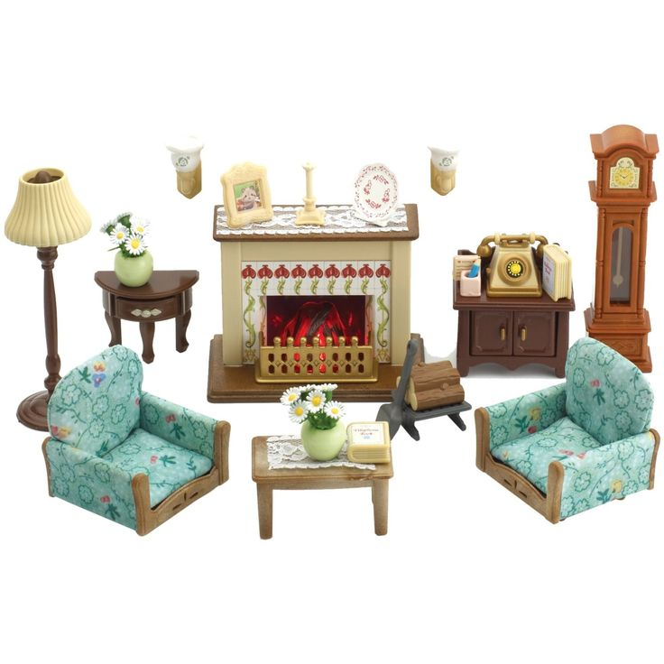 New Sylvanian Families Luxurious Drawing Room Set F S From Japan