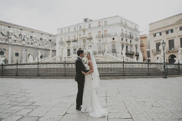 Beautiful wedding in Palermo, Sicily by Purewhite Photography