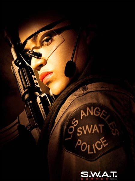 Michelle Rodriguez in S.W.A.T.