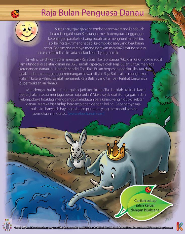 Kelinci dan Raja Bulan Penguasa Kolam