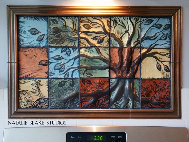 Kitchen Tiles Handmade 87 best tree of life wall art tiles or backsplash tiles ~ handmade