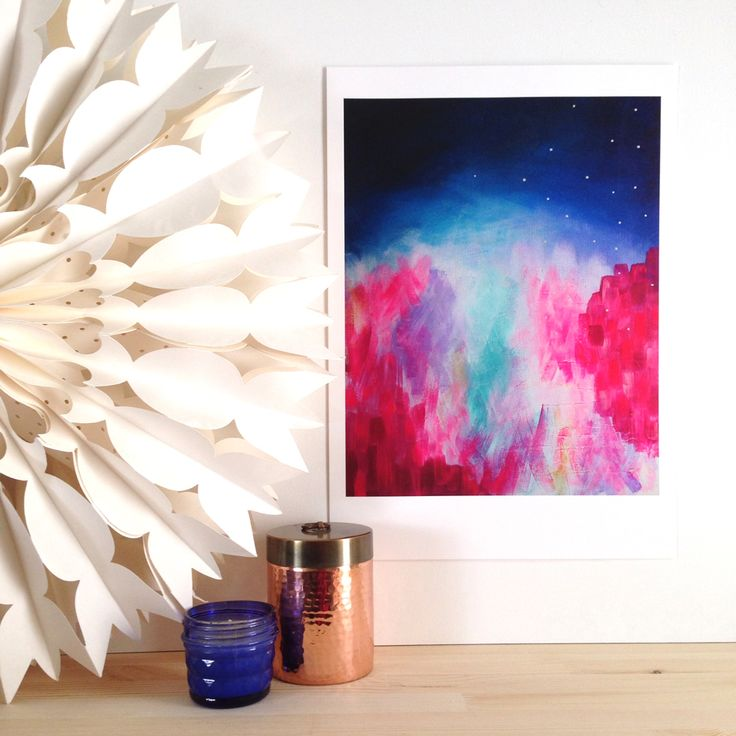 'Alight' is a part of 'The Journey Collection' of original paintings by Mel Boyd. This is a limited edition print which is hand signed and numbered by the artist. It is available in A2 and A3 size and is printed on beautiful 300gsm museum quality cotton rag with pigment inks.