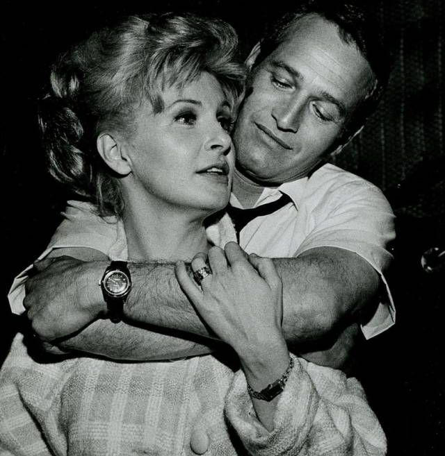 "Joanne and Paul...I remember seeing Paul Newman on Johnny Carson many years ago - Johnny asked him about how he maintained a reputation for being a 'faithful' husband, Paul said, ""Why go out for a hamburger when you've got steak at home."""