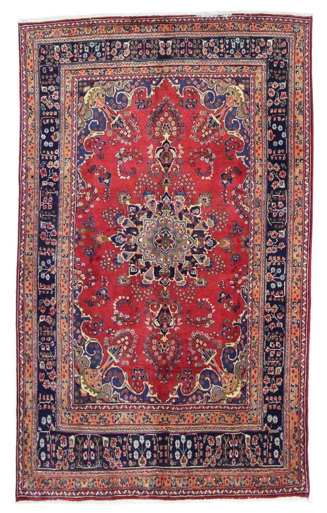 Mashad Handgeknpft Perser Teppich Rugs 272 X 200 Cm Tapis Orient In Mbel Wohnen Teppiche Teppichbden
