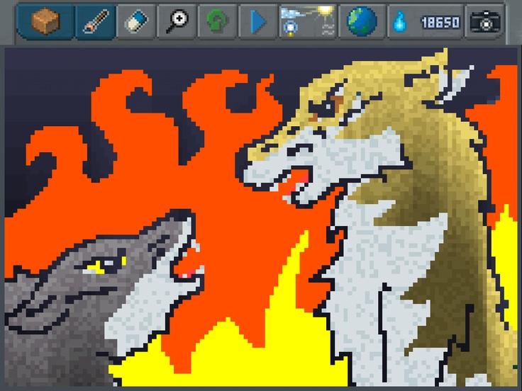 Amazing Wolf PixelArt