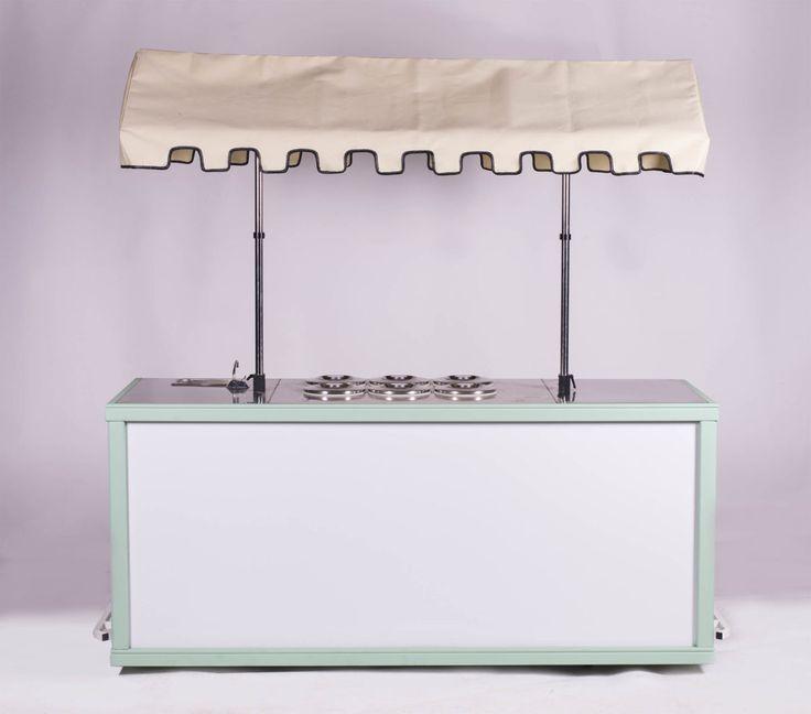 Custom Ice Cream Cart - vintage model by BizzOnWheels