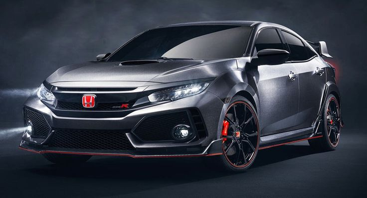 2018 Honda Civic Type R Prototype Is The One Coming To U.S. And We're Super Hyped