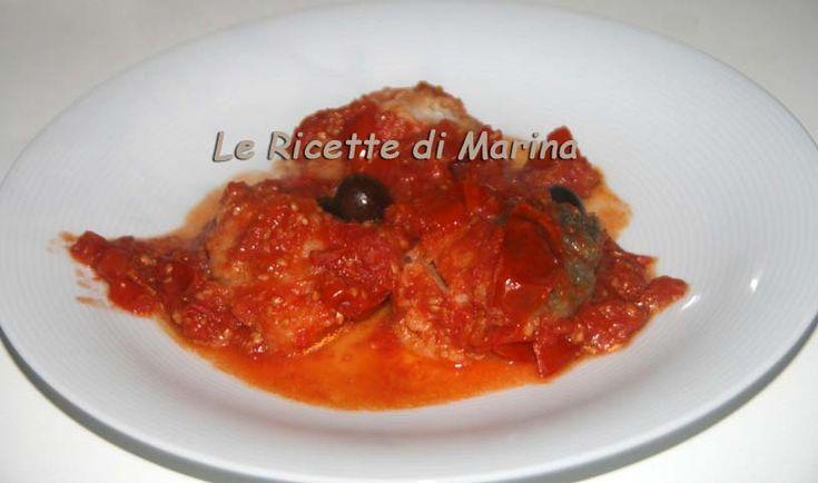 Baccalà fritto con i pomodorini