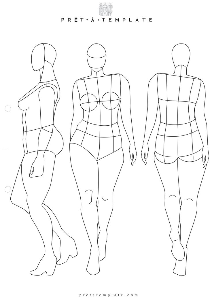 41 best PRINTABLE TEMPLATES Fashion Figure Templates ( Fashion - fashion designer templates