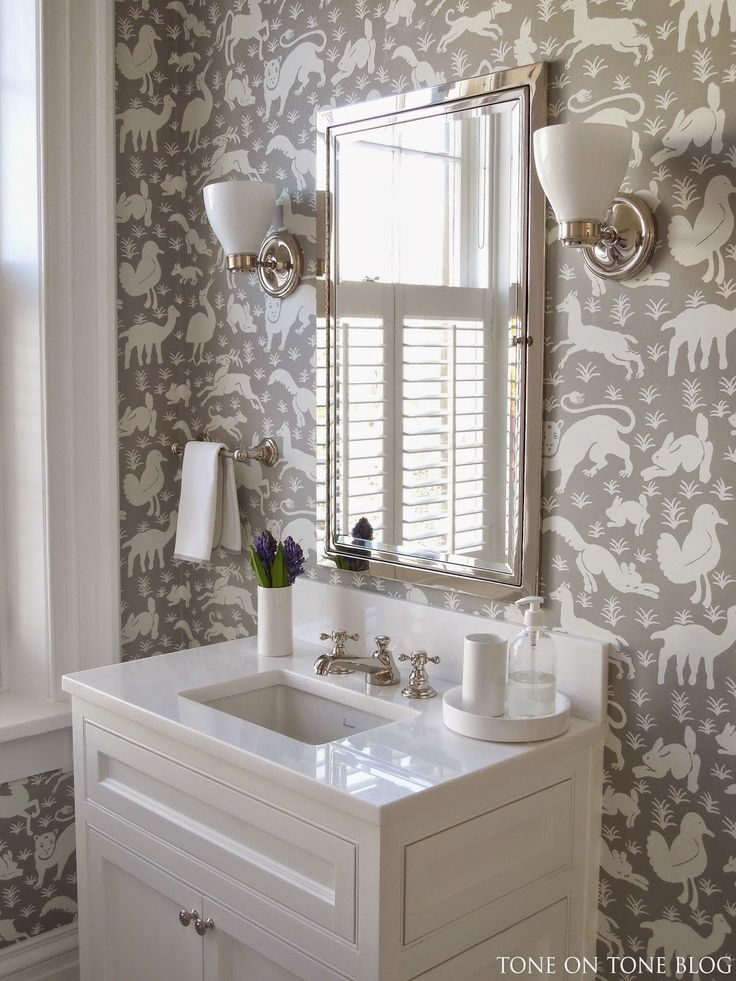 Designs with thibaut a collection of ideas to try about for Bathroom wallpaper