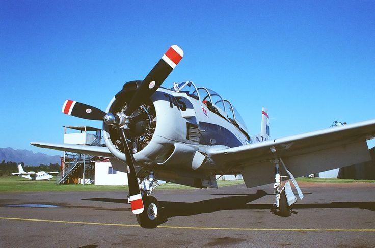 T28 Trojan at Stellenbosch Airfield