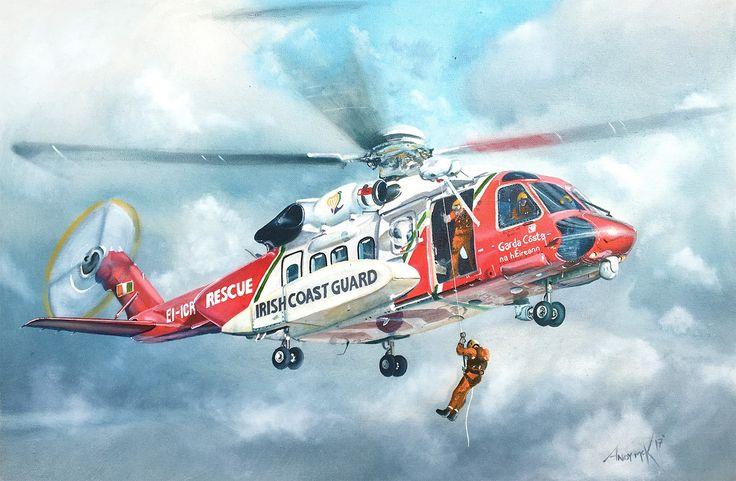 Rescue 116 memorial painting