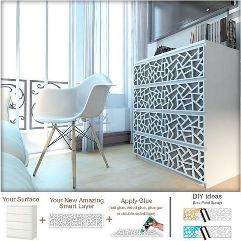 Verwandeln Sie Ihre IKEA® Möbel mit diesen einfach zu gelten Overlays! Sie werden von den Ergebnissen schockiert sein! Unmöglich zu vermeiden, ist IKEA® in allen unseren Häusern. Es nimmt, verwandelt, passt, und gleitet in unserem Wohnzimmer in der Mitte von einem Vintage-Atmosphäre, barock, glamouröses Design, unweigerlich seinen Platz finden. Um so mehr, wenn Sie sich trauen (und haben die Energie) der Umbau, wir sind manchmal überrascht, was ein bestimmtes Stück kann so von seinem…