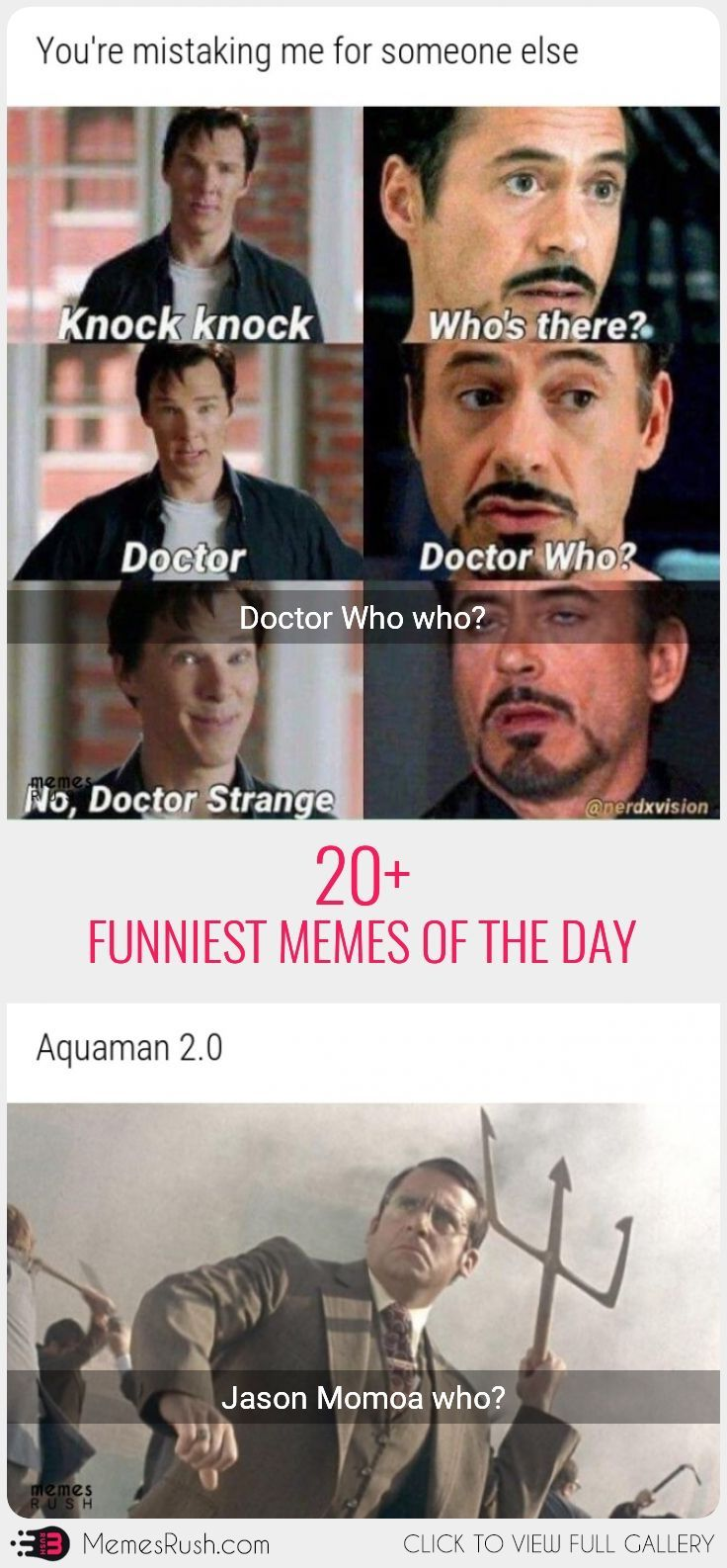 20 Funniest Memes Of The Day Funny Memes Marvel Funny Funny