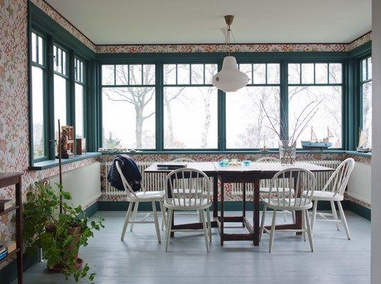 Idee per arredare e decorare la sala da pranzo in stile nordico. Consigli e foto per idee dal Nord Europa per la stanza da pranzo