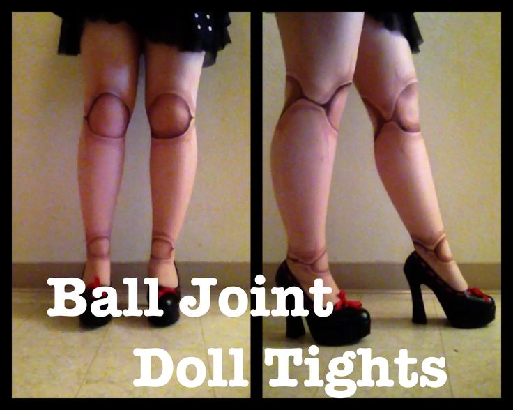 In this tutorial I will be showing you how to make a pair of ball joint doll tights. I thought this would be perfect for any Lolita, for Halloween costumes a...