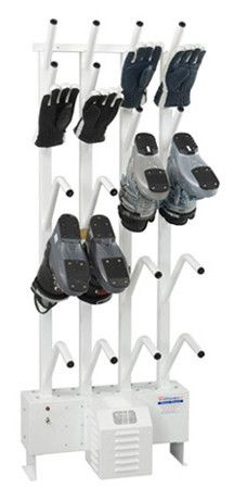 Wall mounted combination 6 pair boot dryer & 6 pair glove dryer   $1,695.00