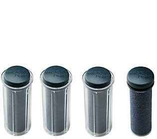 Emjoi Micro-Pedi Choice of Strength Refill Rollers / Set of 4